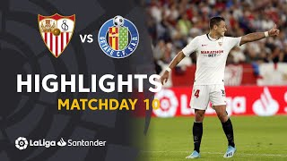 Highlights Sevilla FC vs Getafe CF (2-0)