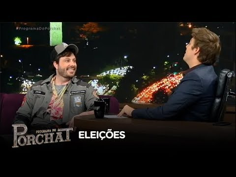 """""""As pessoas tem que dar a sua opinião"""", afirma Danilo Gentili sobre humor em eleições"""