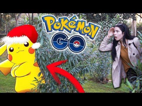 PIKACHU SHINY con GORRO NAVIDEÑO en POKEMON GO!?   SoninGame thumbnail