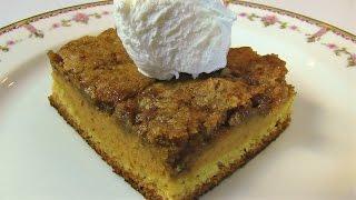 Betty's Pumpkin Dessert Squares