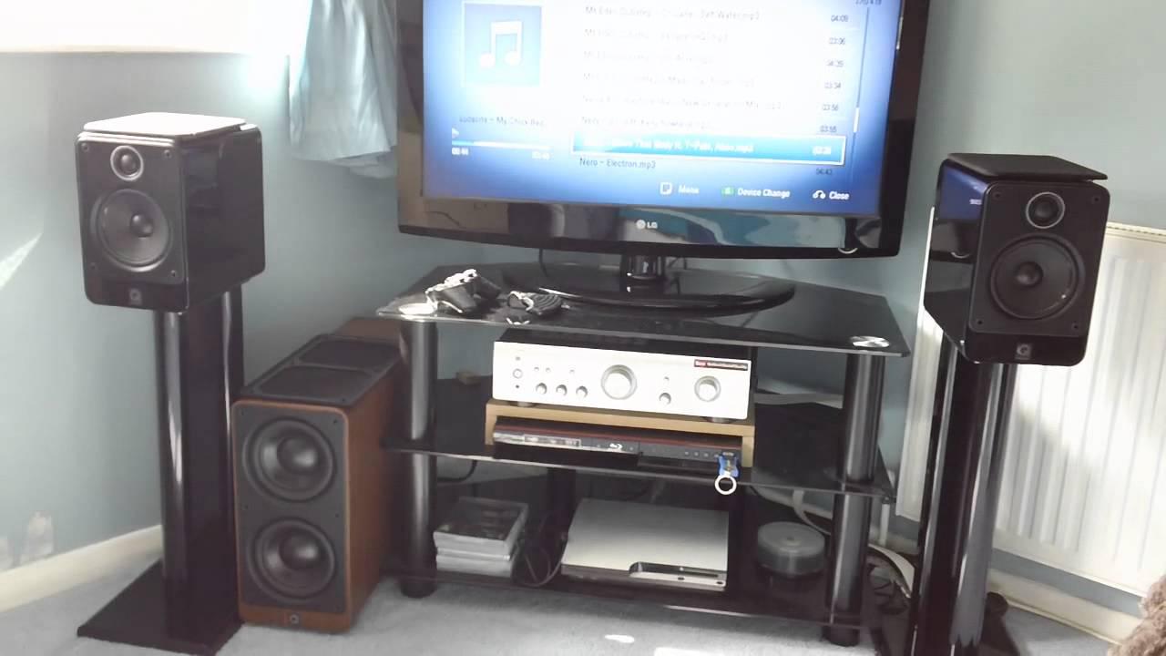 Bi Wiring Q Acoustics 2020 Wire Center Speakers Diagram