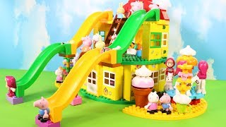 Peppa Pig Legos House Construction Sets - Lego Duplo House Creations Toys For Kids #2