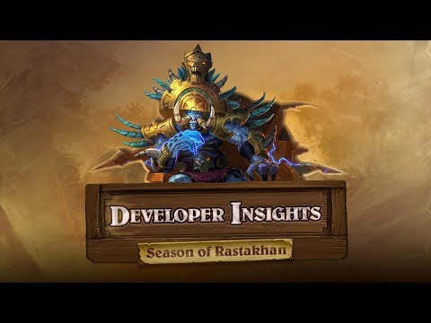 Developer Insights with Joseph Magdalena: The Season of Rastakhan! | Hearthstone