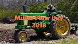 Miller Plow Day 2018 (old tractor farm plowing)