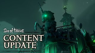Official Sea of Thieves Content Update: Fort of the Damned