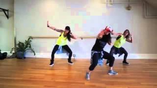 Zumba® Fitness with Lo - *Bunx Up* (Choreo by *Michele DeCarlo*ft  LaRonda and Carolina B.)