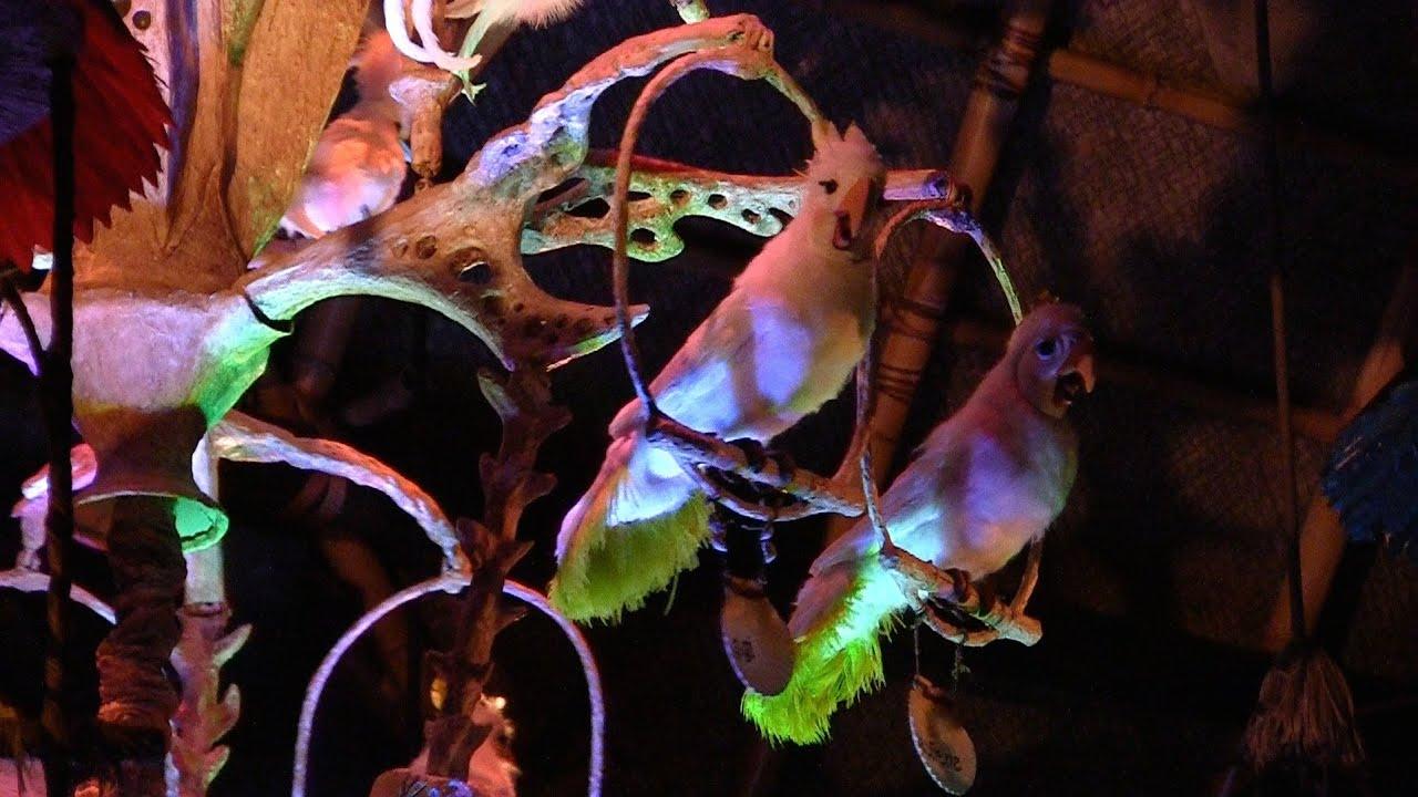 Enchanted Tiki Room 2011 full show as it reopens at Magic