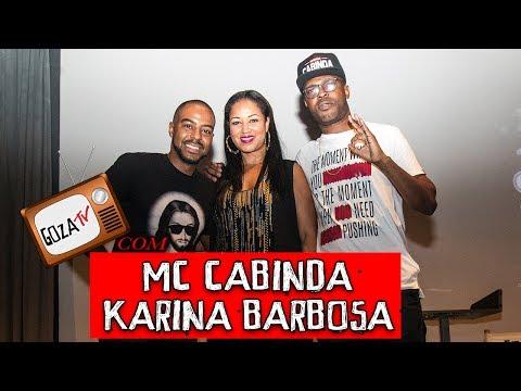 GOZAtv com KARINA BARBOSA e MC CABINDA #4 GOZ'AQUI no CAMÕES