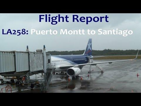 FLIGHT REPORT: LAN Airlines (LA258) | Economy | Airbus A321 | Puerto Montt - Santiago