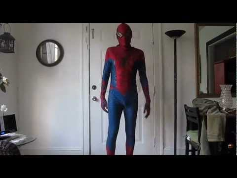 The Amazing Spiderman Suit Replica update 10-15-12 & The Amazing Spiderman Suit Replica update 10-15-12 - YouTube