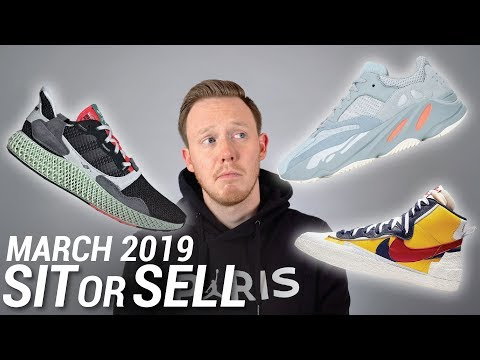2019 Sneaker Releases: March SIT or SELL Part 1