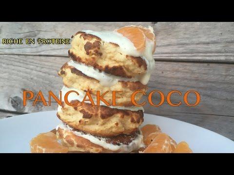 pancakes-légers-et-protéines-à-la-farine-de-coco