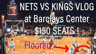 BROOKLYN VLOG | NETS KINGS GAME WAS LIT | BARCLAYS CENTER