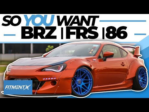 So You Want A FRS/BRZ/86