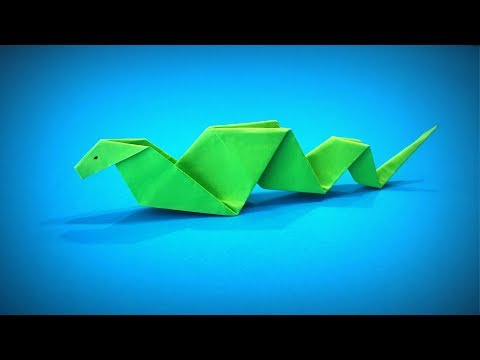 Origami Snake | How to Make a Paper Snake DIY | Easy Origami ART | Paper Crafts