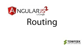 Angular 2 Routing Hands-on — Everything you need to know in 13 minutes