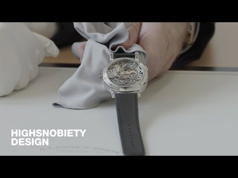The Building Of The Datagraph Perpetual Tourbillon - one of a kind watch