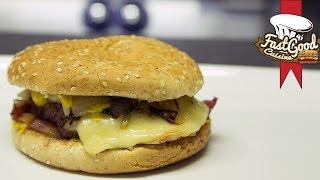 Burger Raclette par FastGoodCuisine