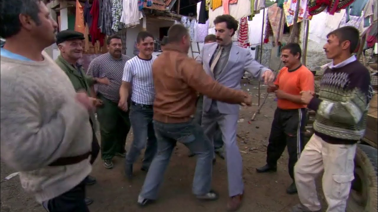 BORAT Funniest Dance Ever! (HD)