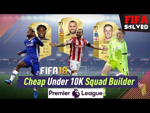 FIFA 18 Cheap U10K Premier League Team
