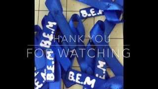 How To Make Personalized Cancer Awareness Ribbons