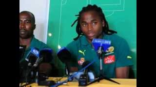 South African Internationals - Siphiwe Tshabalala and Siyabonga Nomvethe Interview