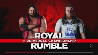 WWE 2K18 - Daniel Bryan vs. AJ Styles Universal Title