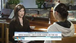 Mirai Nagasu: Tiny teen is figure skating's dark horse