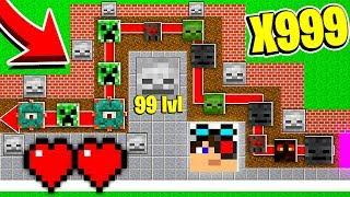 ИЗИ ТАКТИКА ПОБЕДЫ! МЕНЯ НЕРЕАЛЬНО ПОБЕДИТЬ! ТД МАЙНКРАФТ!   Minecraft Tower Defence