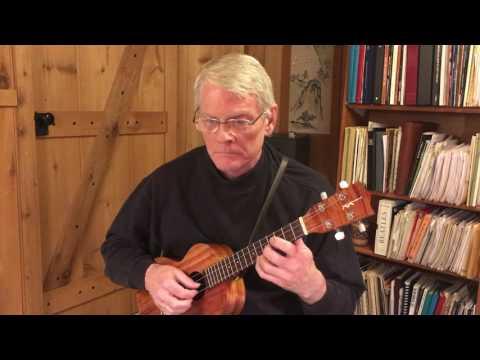 Prelude from cello suite no. 1 by J S Bach: Daniel Estrem, ukulele