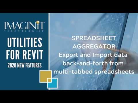 Utilities for Revit: Spreadsheet Aggregator