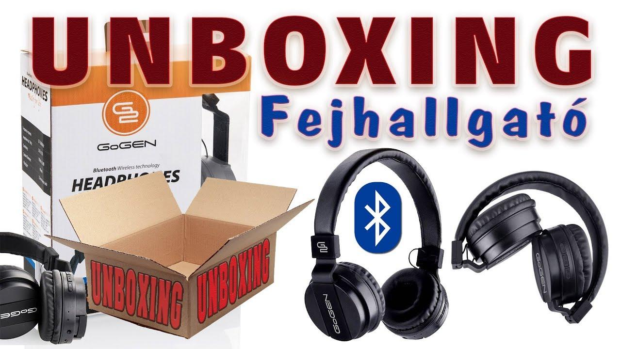UNBOXING - Fejhallgató GoGEN HBTM 21 - YouTube 04e0f22dab