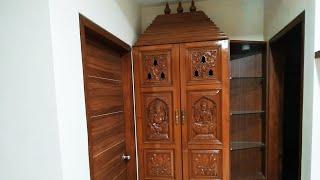 pooja room designs latest |small pooja room ideas| pooja cabinet design ideas