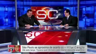 O amigão, o são paulo e o caraglio – sportscenter, 18/07/2016