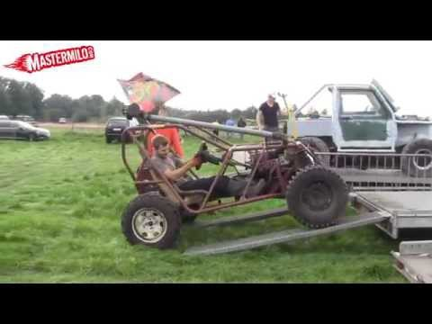 Homemade 4x4 buggy offroad, part 2