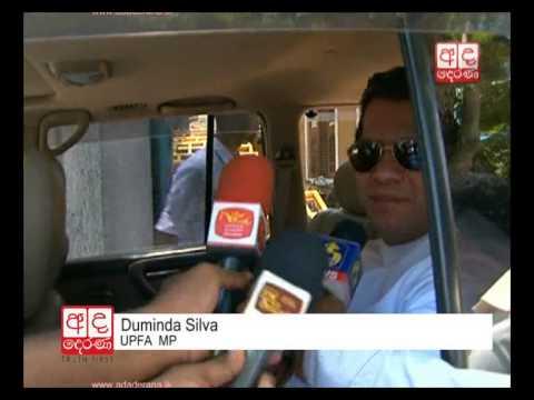 Duminda Silva declares his assets and liabilities
