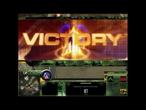 Act of War: Direct Action - Skirmish - Hard 4 vs 4 - U.S. Ar