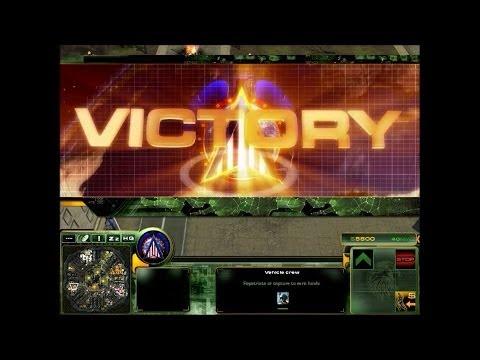 Act of War: Direct Action - Skirmish - Hard 4 vs 4 - U.S. Army