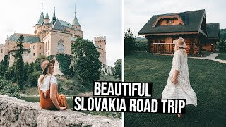 We Didn't Expect Slovakia To Be THIS Beautiful | Bojnice Castle & Sulov Rocks