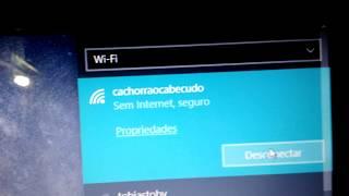 wifi nao tem uma configuraçao de ip válida  soluçao