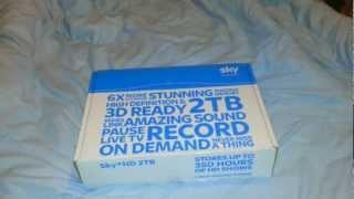 Unboxing: Sky+ box 2TB