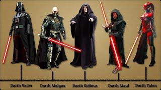 30 Sith Lords