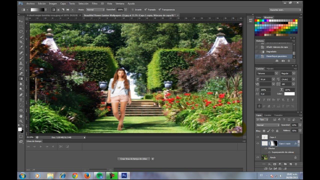 Como Hacer Un Fotomontaje Photoshop Cs6 Facil