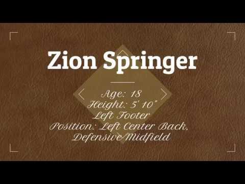 Zion Springer Presentation College San Fernando