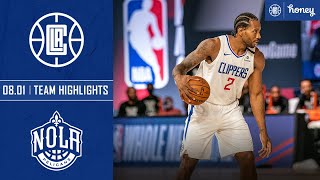 Clippers set a franchise record 25 Three-pointers vs. Pelicans | Honey Highlights