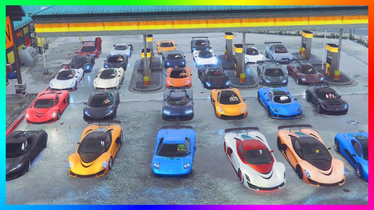 Gta Online Ultimate Super Car Special Best Super Car Garages