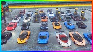 GTA ONLINE ULTIMATE SUPER CAR SPECIAL - BEST SUPER CAR GARAGES, FASTEST GTA 5 VEHICLES & HYPER CARS!