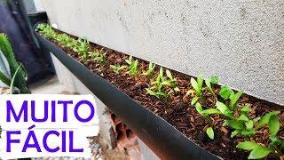 Como fazer Jardim Vertical e Suspensa com Cano PVC