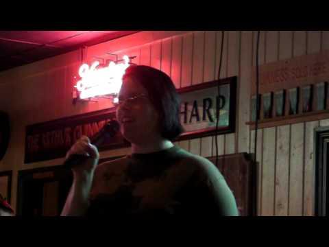 Original: White Girl Singing Vanilla Ice, Ice Ice Baby Karaoke