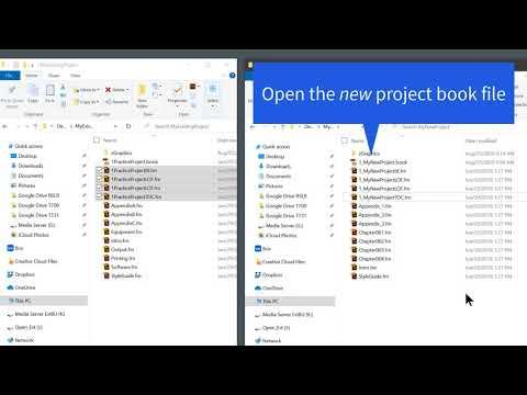 Reusing Adobe FrameMaker Generated Files